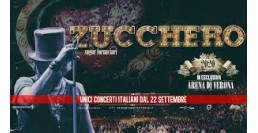3 OTTOBRE 2020 / ZUCCHERO IN CONCERTO - Arena di Verona